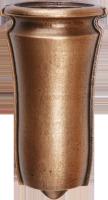 Vase ronde bosse colombarium 13 x 7 cm dorique